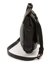 Frye | Black 'amy' Leather Crossbody Bag | Lyst