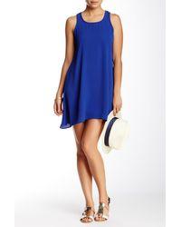 Sienna Rose | Blue Solid Dress | Lyst