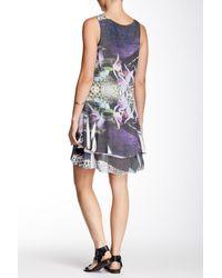 Sienna Rose - Multicolor Printed Hi-lo Tunic - Lyst