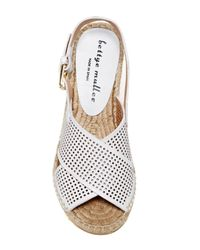 Bettye Muller - White Direct Espadrille Wedge Sandal - Lyst