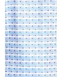 Bugatchi - Blue Shaped Fit Short Sleeve Sport Shirt for Men - Lyst