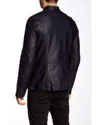 Helmut Lang Black Dispatch Genuine Leather Jacket for men