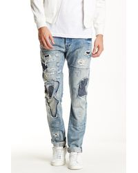 PRPS - Blue Danno Distressed Jean for Men - Lyst