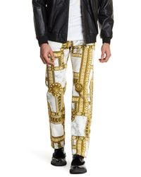 Versace | Multicolor Printed Jean for Men | Lyst