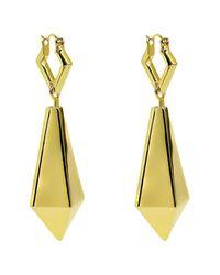 Noir Jewelry - Metallic Macbeth Drop Earrings - Lyst
