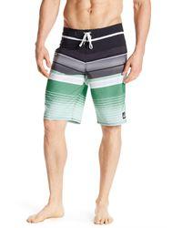 Quiksilver   Green Everyday Stripe Boardshort for Men   Lyst