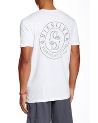 Quiksilver - White Unidentified Modern Fit Graphic Tee for Men - Lyst