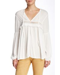 On The Road - White Aurora Blouse - Lyst