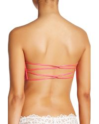 Free People Red Essential Bandeau