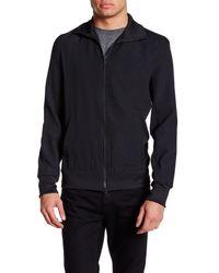 Y-3 | Black Long Sleeve Front Zip Jacket for Men | Lyst