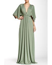 Rachel Pally Green Long Caftan Dress