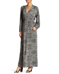 Dress Forum | Black Long Sleeve Maxi Dress | Lyst