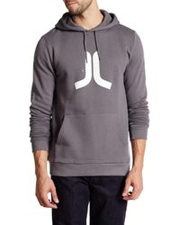 Wesc - Gray Icon Hoodie for Men - Lyst