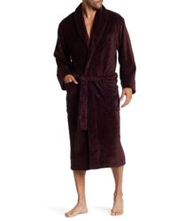 Daniel Buchler | Purple Heathered Terry Robe for Men | Lyst