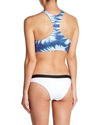 Rip Curl Blue Westwind Reversible High Neck Bikini Top