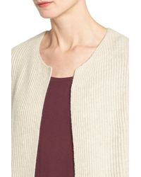 Halogen Multicolor Long Cashmere Cardigan