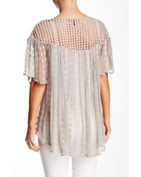 House of Harlow 1960 - Multicolor Stevie Silk Blouse - Lyst