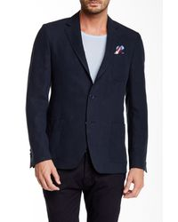 Spurr By Simon Spurr | Blue Two Button Notch Lapel Sport Coat for Men | Lyst