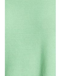 Trouvé - Green Corrugated Stitch Pullover - Lyst