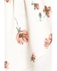 June & Hudson - Natural Wrap Top - Lyst