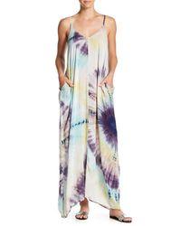 Love Stitch Multicolor Tie-dye Maxi Dress