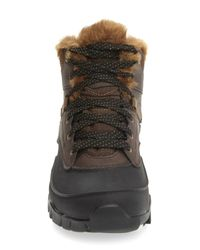 Merrell | Brown Aurora 6 Waterproof Faux Fur Lined Boot | Lyst