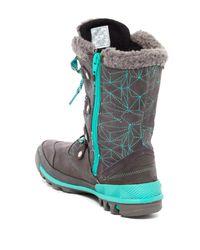 Merrell - Multicolor Silversun Lace-up Wool Trim Waterproof Boot - Lyst