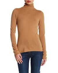 In Cashmere | Natural Cashmere Turtleneck Sweater | Lyst
