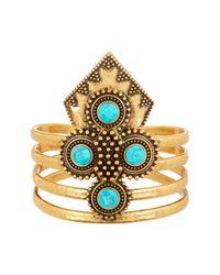 Lucky Brand | Metallic Cuff Bracelet | Lyst