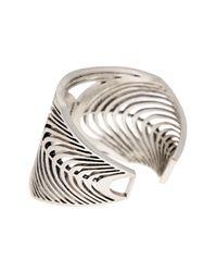 Lucky Brand Metallic Open Work Cuff Bracelet
