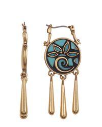 Lucky Brand - Multicolor Mosaic Drop Earrings - Lyst