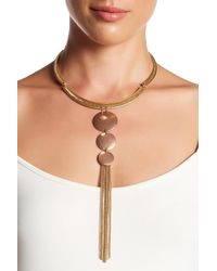 Lucky Brand | Natural Choker Necklace | Lyst