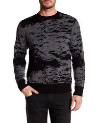 J Brand | Gray Fitz Crew Neck Wool Sweater for Men | Lyst