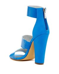 Michael Antonio   Blue Joxy Heel Sandal   Lyst