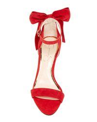 Jessica Simpson Red Millee Dress Sandal