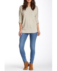 7 For All Mankind | Blue Gwenevere Skinny Jean | Lyst