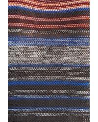 Billabong Multicolor 'sunset Ave' Stripe Knit Duster