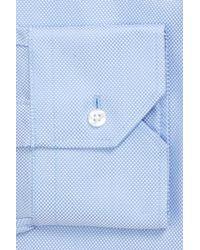 John W. Nordstrom - Blue John W. Nordstrom Trim Fit Dress Shirt for Men - Lyst