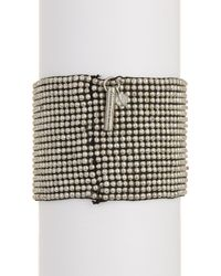 Kenneth Cole - Blue Beaded Cuff Bracelet - Lyst