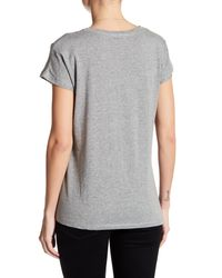 Articles of Society - Gray Nancy Side Knot Tee - Lyst