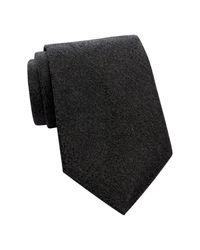 Calvin Klein | Black Nouveau Medallion Tie for Men | Lyst
