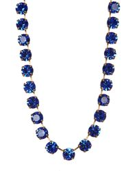 Loren Hope - Blue Kaylee Necklace - Lyst