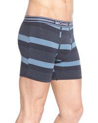 Michael Kors - Blue Modal Blend Boxer Briefs for Men - Lyst