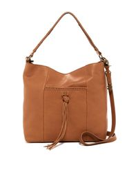 Lucky Brand - Brown Sydney Leather Hobo Crossbody - Lyst