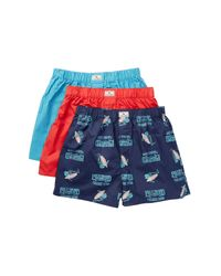Lucky Brand | Multicolor Woven Boxer - Pack Of 3 for Men | Lyst