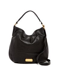 Marc By Marc Jacobs | Black New Q Hillier Leather Hobo | Lyst