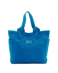 Marc By Marc Jacobs | Blue Pretty Nylon Medium Tate Tote | Lyst