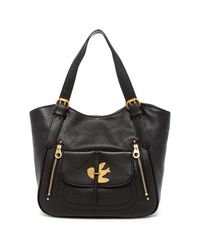 Marc By Marc Jacobs | Black Petal To The Metal Leather Tote | Lyst
