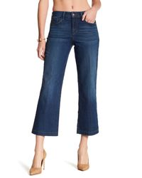 NYDJ | Blue Sophia Flare Ankle Jean | Lyst