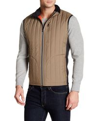 Victorinox | Brown Grafton Quilted Vest for Men | Lyst